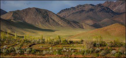 Quelle est cette région située sur le nord-est de l'Iran et le nord-ouest de l'Afghanistan, centre d'un empire des XIe et XIIe siècles, dont le nom est également considéré comme le nom médiéval de l'Afghanistan par les Afghans ?