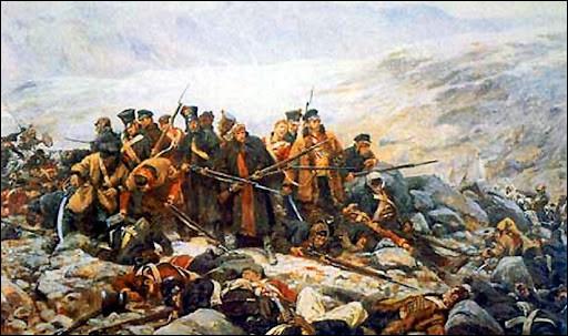 Quelle puissance doit quitter l'Afghanistan en 1842 après une guerre de trois ans ?