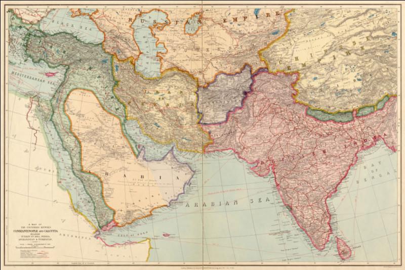 Quelle est la position stratégique de l'Afghanistan au XIXe siècle ?