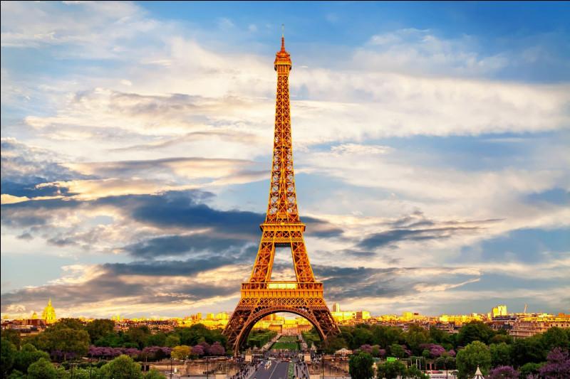 La capitale de la France s'appelle :