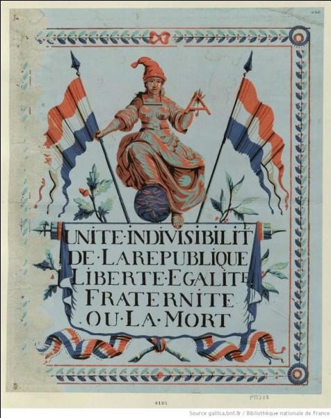 Ce 21 septembre, les députés de l'assemblée abolissent la monarchie. En quelle année était-ce ?