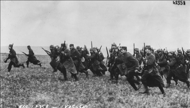 Le 6 septembre 1914, c'est le début de l'une des premières grandes batailles de la première guerre mondiale :
