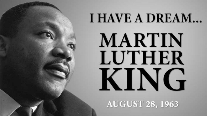 Complétez cette phrase : j'ai fait un rêve qu'un jour, les petits enfants noirs et les petits enfants blancs joindront leurs mains comme...