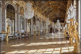 Genre grand nettoyage : combien de glaces compte la grande galerie de style baroque située dans le château de Versailles ?