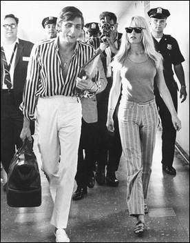 Brigitte Bardot est la muse du cinéma des année 60-70. Quel agent épousera-t-elle en 1966 ?