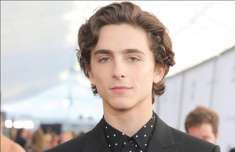 Ce jeune acteur franco-américain est né en 1995 et obtient l'Oscar du meilleur acteur en 2018 à 23 ans. Quel est son nom ?