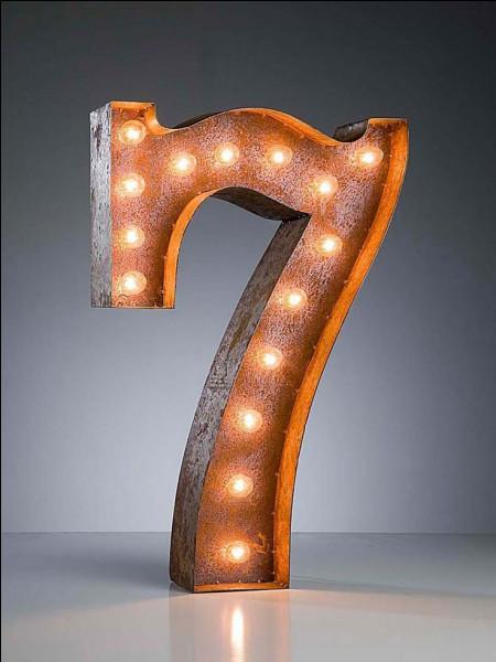 """En espagnol, comment se dit """"7"""" ?"""