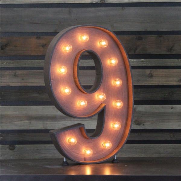 """Et le """"9"""", comment se dit-il ?"""