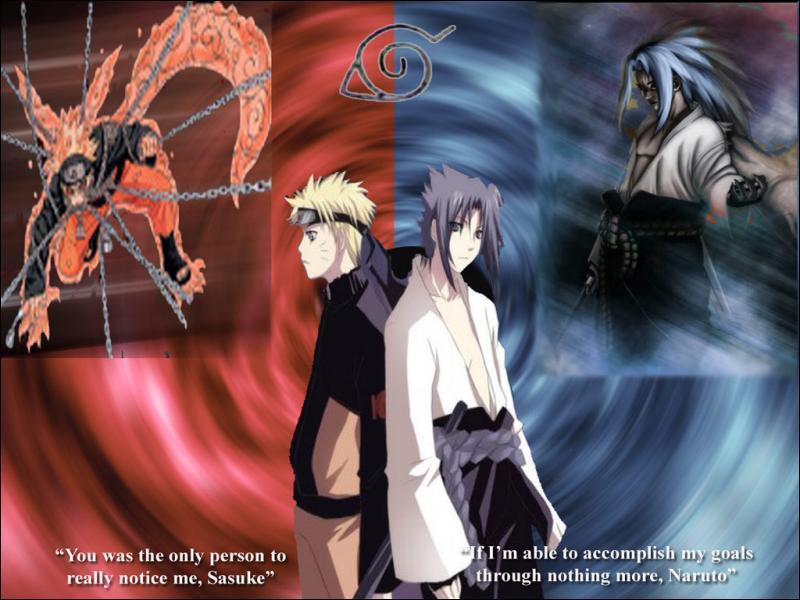 Avec Naruto et sasuké font ils équipe ?