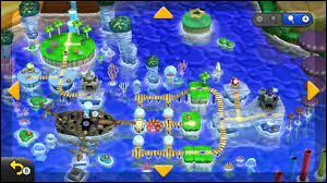 Comment s'appelle le monde 3 de Super Mario Bros. U Deluxe