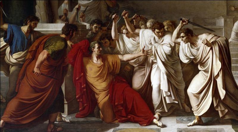 Quand est mort Jules César ?