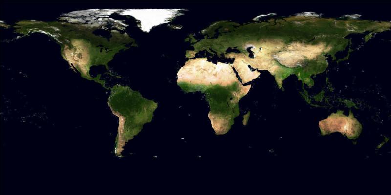 De toutes façons, il y a belle lurette que le seul continent presque exclusivement gagné par le vert est ...