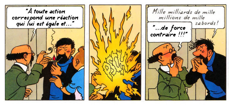 Tintin fait rien qu'à copier ! (12)