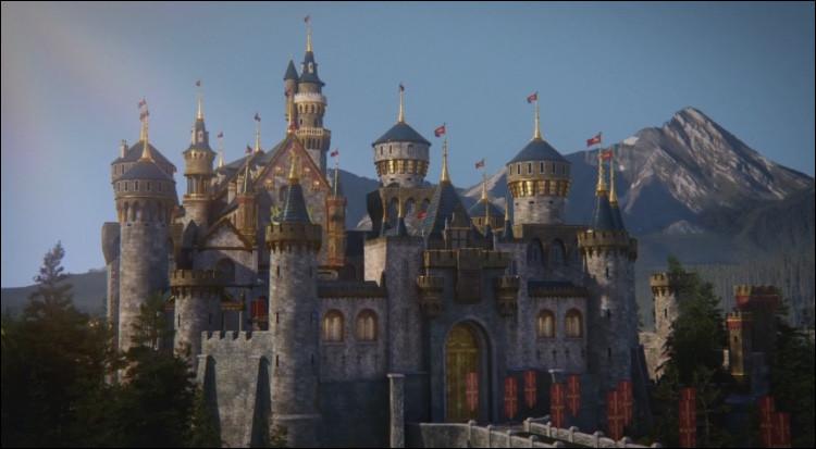 Dans quel monde est ce château ?