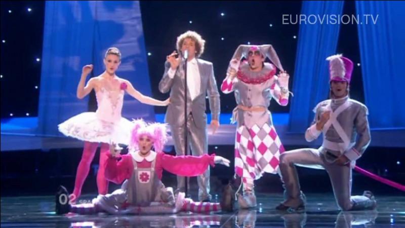 Que se passe-t-il pendant la prestation espagnole en 2010 ?