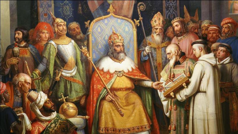 En quelle année est né Charlemagne ?
