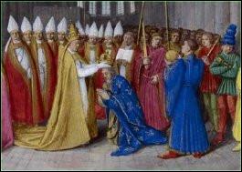 Quand et où est couronné Charlemagne ?