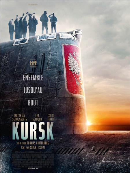 """""""Kursk"""" est le titre d'un film joué par Léa Seydoux."""
