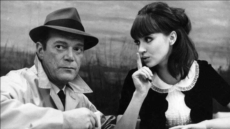 """""""Alphaville"""" est un film dans lequel joue Anna Karina."""