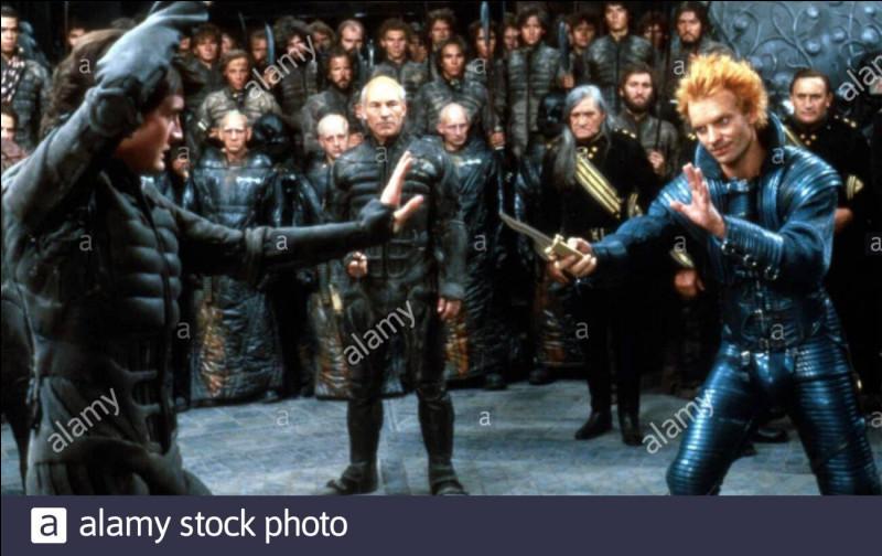 """""""Dune"""" est un long-métrage dans lequel joue Sting."""