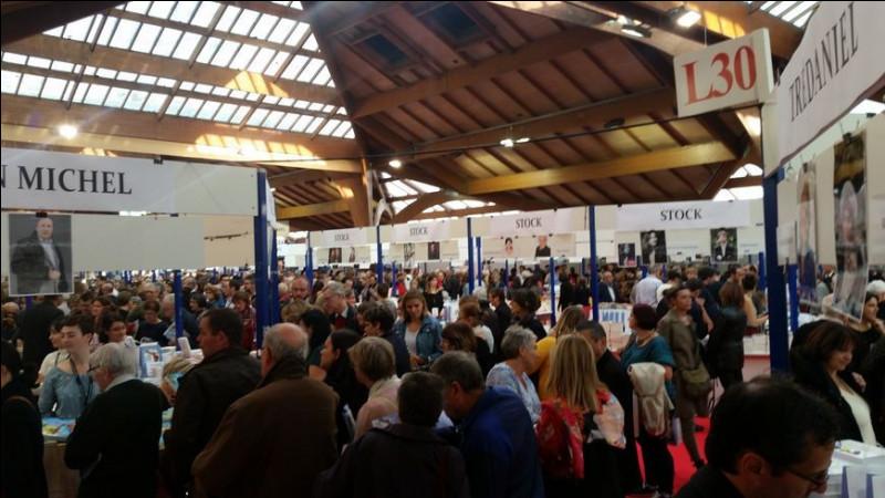 """Cette ville accueille chaque année en novembre une """"Foire du livre"""" considérée comme un des plus importants évènements littéraires en France : c'est ..."""