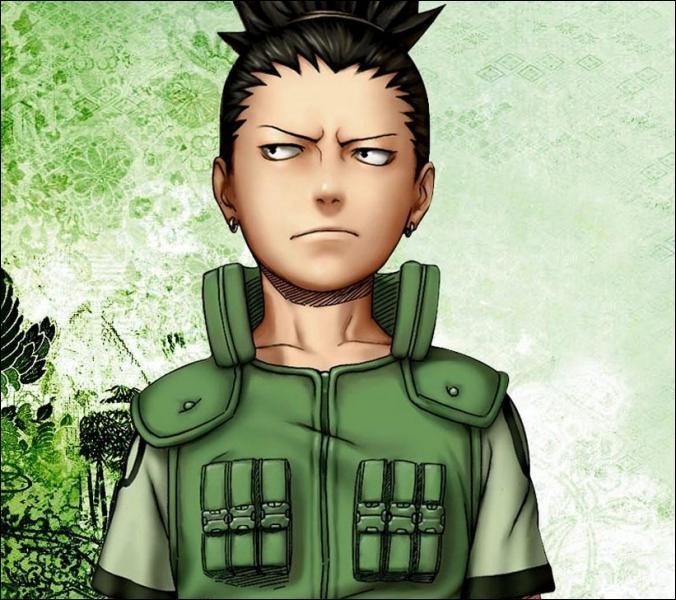 (Shikamaru Nara) Qui le fait chuter dans l'arène, le forçant à aller combattre Temari lors de l'examen Chunin ?