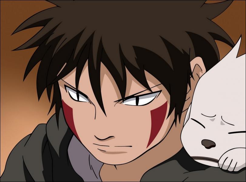 (Kiba Inuzuka) Quel membre du Quartet du Son combat-il personnellement ?
