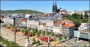 Dans quel département se trouve la ville de Clermont-Ferrand ?