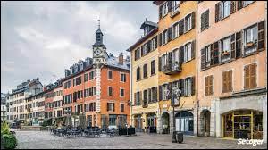 Dans quel département se trouve la ville de Chambéry ?