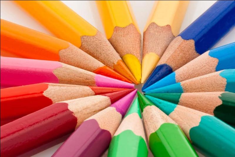 Par quelle lettre commence ta couleur ?