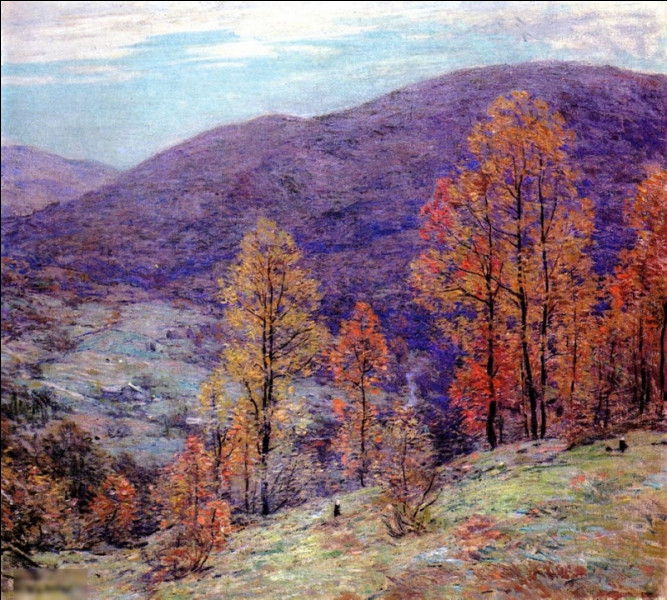 """Quel impressionniste américain a peint """"Gloire de l'automne"""" ?"""