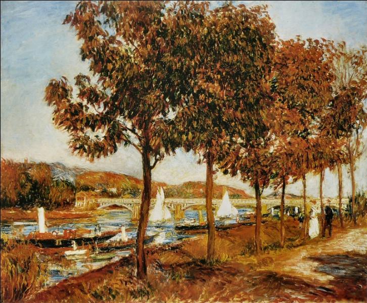 """""""Le Pont d'Argenteuil en automne"""" est un tableau de quel peintre ?"""
