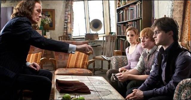 Qu'est-ce que Dumbledore lègue-t-il à Ron ?