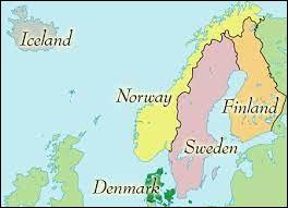 Au sens strict, quels sont les trois pays formant la Scandinavie ?