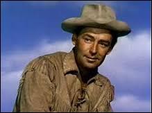 Il était Shane, un cow boy solitaire dans ' L'homme des vallées perdues ' :