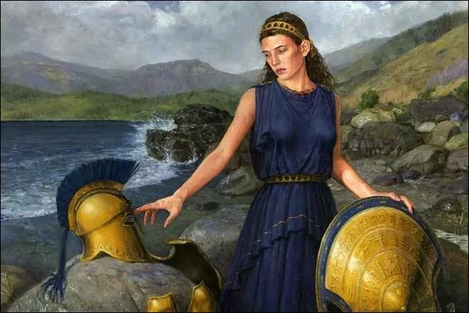 Quelle divinité est la mère du héros Achille ?