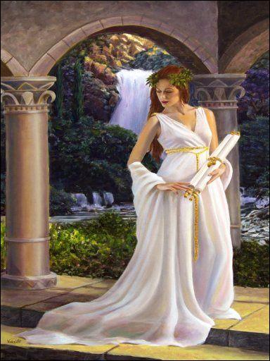 Première Muse présidant à la poésie. Qui est-elle ?