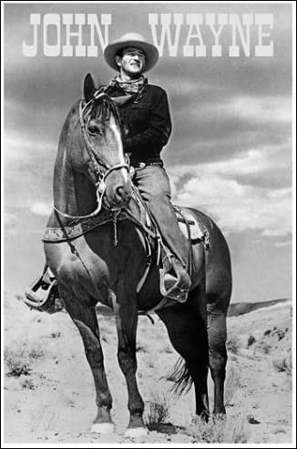 L'acteur star John Wayne, souvent à cheval, s'appelait en réalité Marion Morrison.