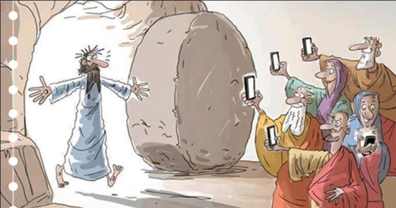 Terminez cette citation de Jean Charles : Quand le Christ fut ressuscité, il apparut ...