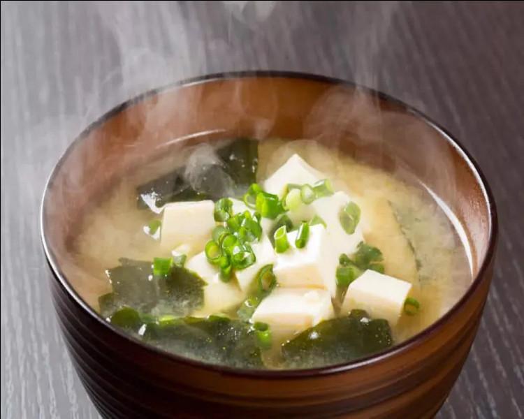 La soupe ''miso'' est une recette de cuisine traditionnelle de quel pays ?