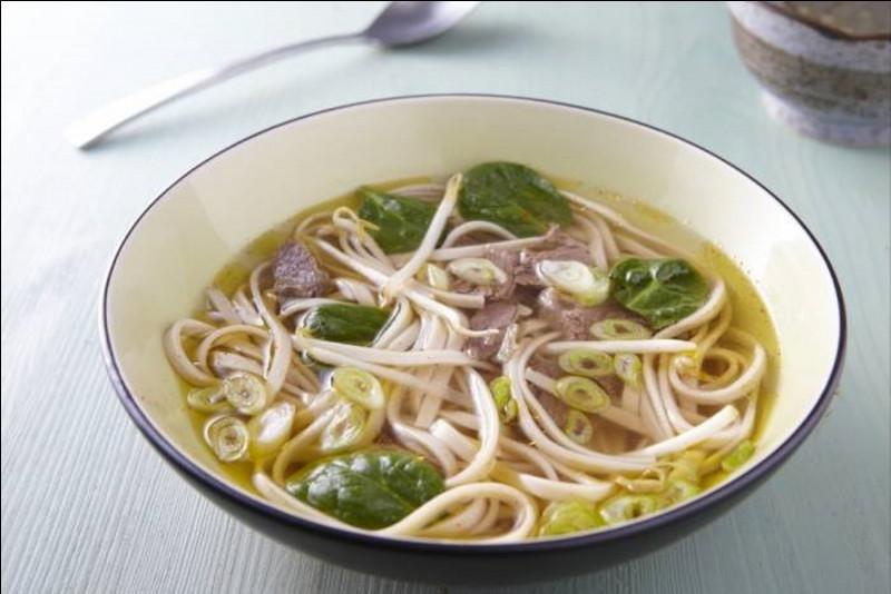 Sous quel nom connaît-on mieux la soupe tonkinois, recette traditionnelle de cuisine vietnamienne ?