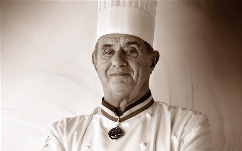 Qui est ce grand chef cuisinier, créateur de ''la soupe aux truffes noires VGE'', ou ''soupe Élysée'' ?