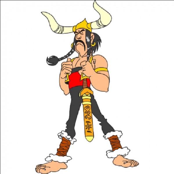 Dans quel album d'Atérix trouve-t-on le chef ''Soupalognon y Crouton'' ?