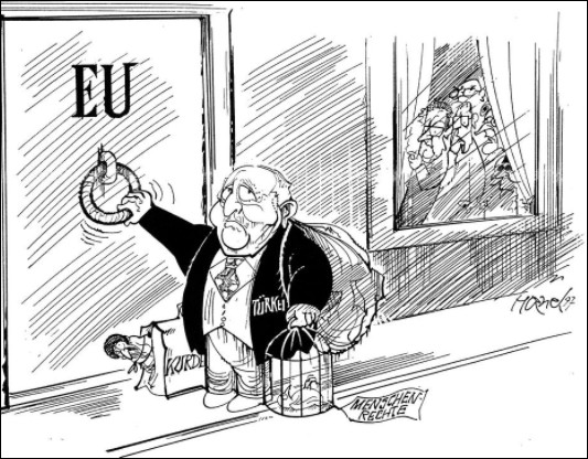 Si l'adhésion de la Turquie est acceptée, l'Union européenne devrait avoir à gérer une question qui pour elle est un repoussoir, laquelle ?