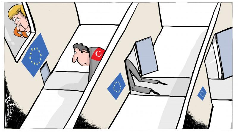 Lorsqu'un processus d'adhésion est enclanché, 35 dossiers doivent être travaillés pour préparer l'adhésion. Depuis 2005, combien de ces dossiers ont été ouverts à ce jour pour la Turquie ?