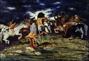 Il a 21 ans lorsqu'il peint cette toile . De qui s'agit-il ?