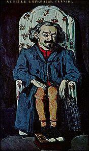 Il a 25 ans lorsqu'il peint cette toile. De qui s'agit-il ?