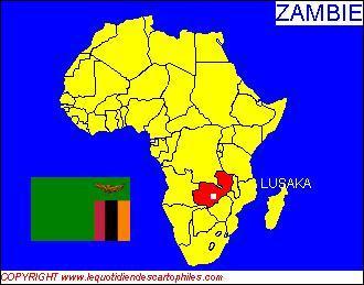 La capitale de la Zambie est Lusaka, ses habitants sont Zambiens et la monnaie utilisée est le dollar de Zambie