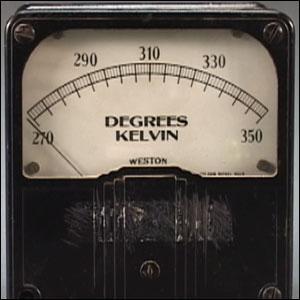 Physique : K représente le Kelvin, unité de mesure de température. Zéro Kelvin représente le zéro absolu, soit la température la plus basse pouvant exister dans l'univers, c'est à dire :