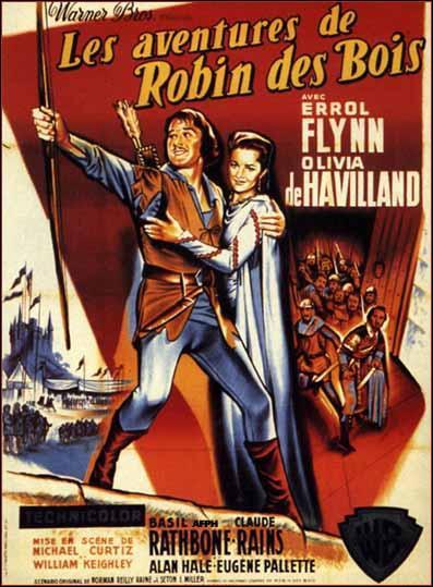 Robin des Bois a été joué par :